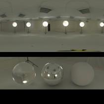 photographic lights spherical hdri map