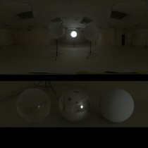 photographic lights spherical hdri map