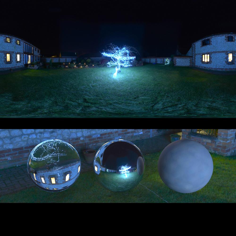 Panocapture » Tree Lights Night