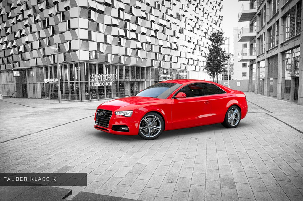 audi s5 rendered using hdri imap and background plate