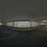 dirty indoor car park spherical HDRi map for 3d rendering