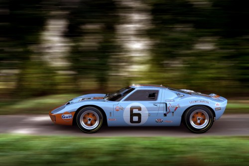 gulf ford gt 40 rendered using geyton road 02 hdri and backplate image