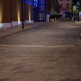 Urban city street hdri map backplate tiled ground